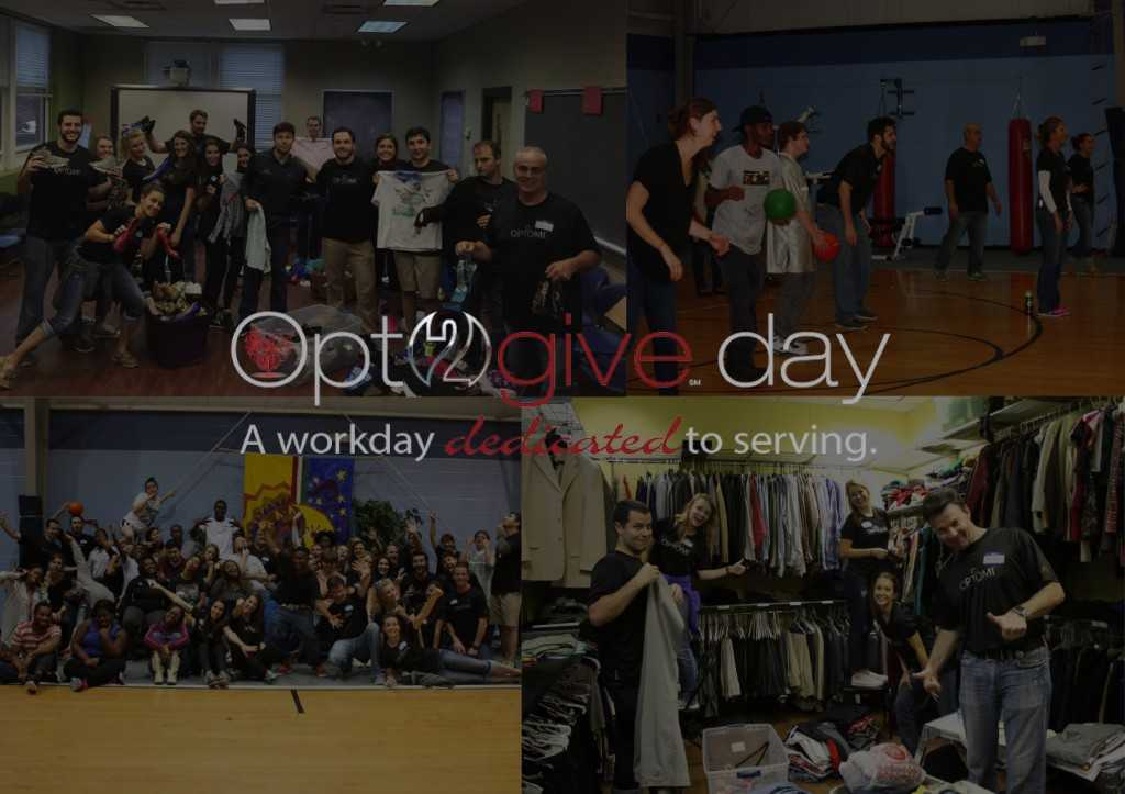 Our Atlanta Team Mentors Young At-Risk Adults for Opt2give day 2015