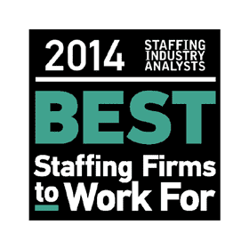 BEST PLACES TO WORK 2014 AWARD