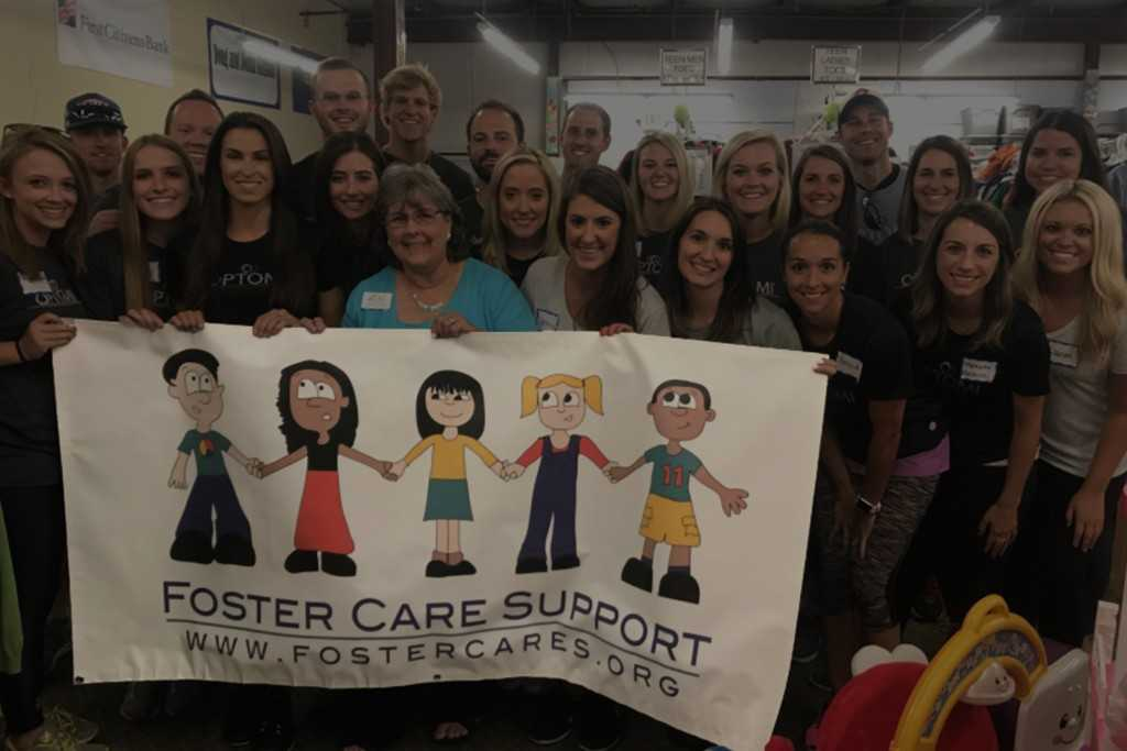 Optomi's Atlanta Team Gives Back at the Foster Care Support Center