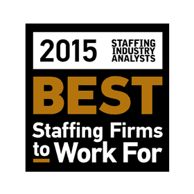 BEST PLACES TO WORK 2015 AWARD