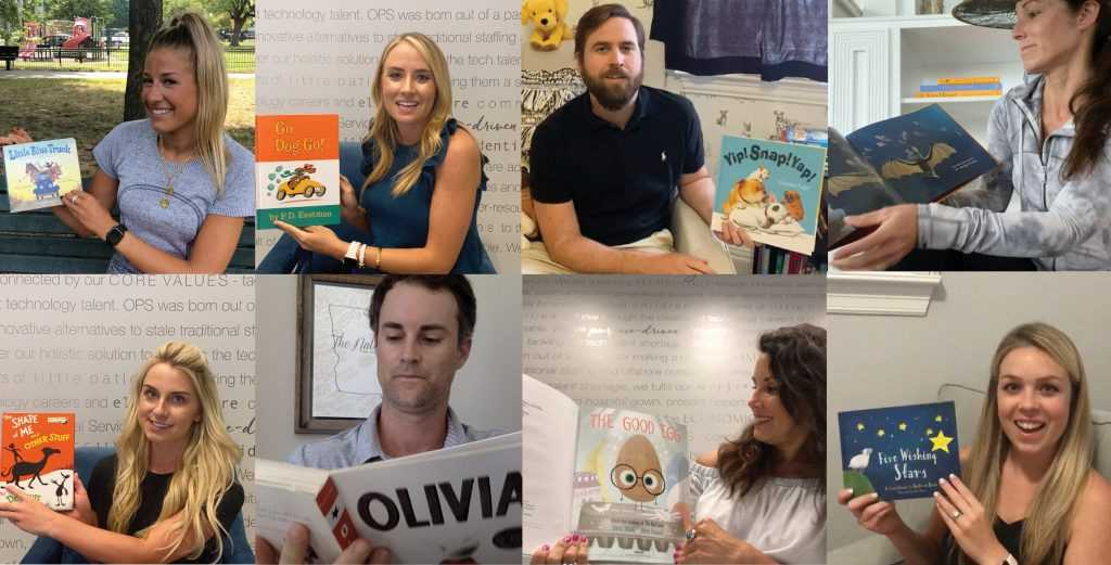Optomi partners with Children's Health to Read Books to Hospitalized Children During Virtual Story Hour