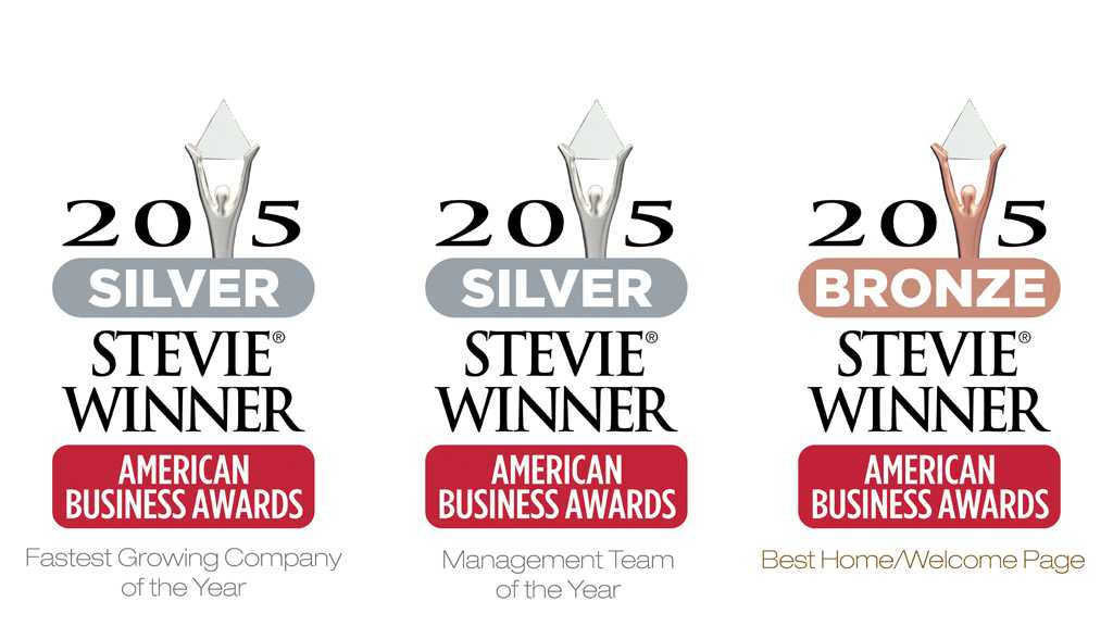OPTOMI HONORED WITH THREE STEVIE® AWARDS AT THE 2015 AMERICAN BUSINESS AWARDS